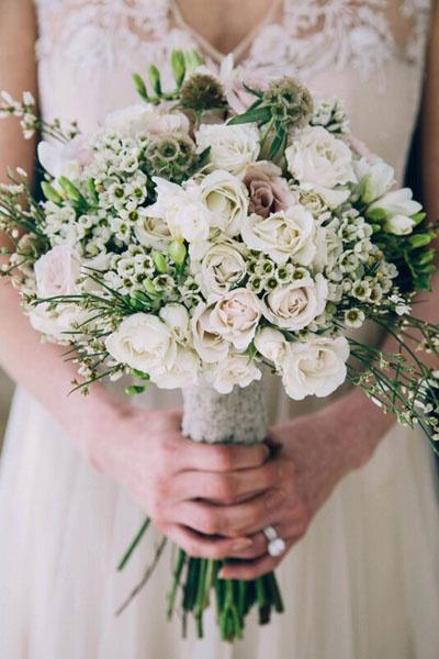 即将结婚的新娘子们,新娘手捧花要注意啦!
