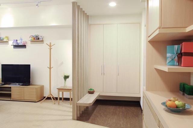 70平日式风格休闲雅居 美感与机能巧妙平衡的设计