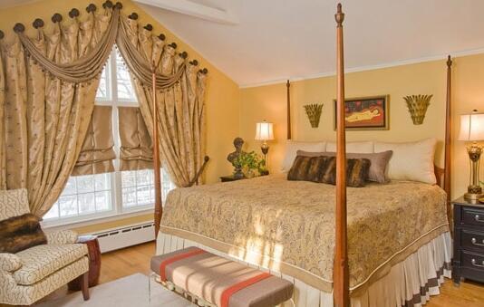 卧室窗帘风水