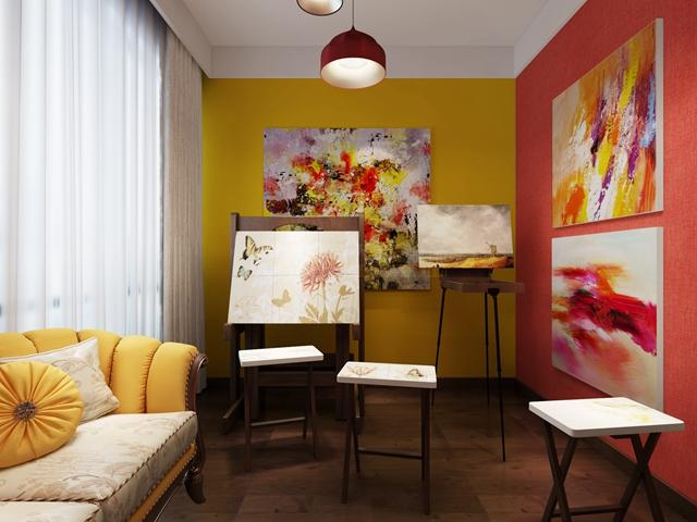 160平东南亚风格装修案例 绚丽富有禅意的空间