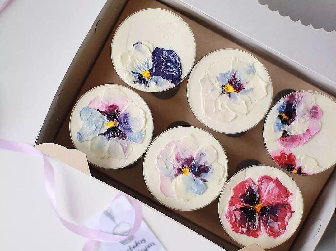 她创造的油画蛋糕,美到可以摆进卢浮宫!